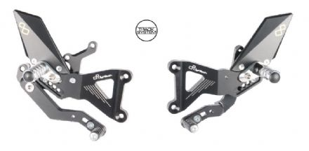LighTech Triumph Daytona 675 / 675R 2006-2012 Adjustable Rearsets